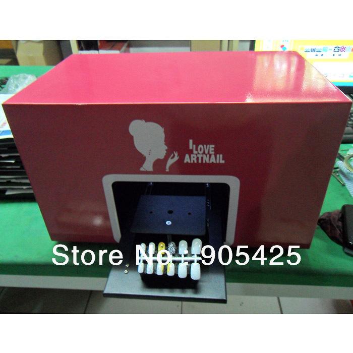 Fashion digital nail art machine printer on promotion DIY digital nail art free shipping(China (Mainland))