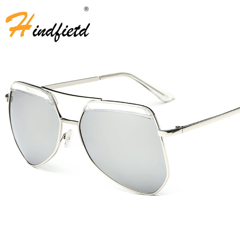Women Fashion Sunglasses Cool Irregular Personality Retro Eyewear Glasses Color Luxury New Brand High Quality Women Sunglasses(China (Mainland))