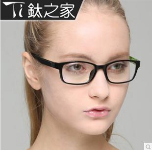 Optical Frame Fashion Reading Glasses Brand Eyeglasses Full-rim TR90 Eyewear black - Rainbow store
