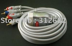 SCART TO 5 RCA COMPONENT YPbPr VIDEO CABLE LEAD, 1.5 Metre 5 RCA Component + Audio , Free Shipping(China (Mainland))
