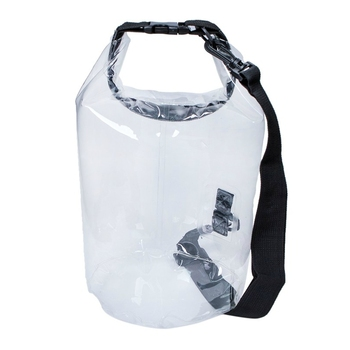 10L High quality waterproof Storage transparent Dry Bag for Canoe Kayak Rafting Sports Camping Travel Kit Equipment clear