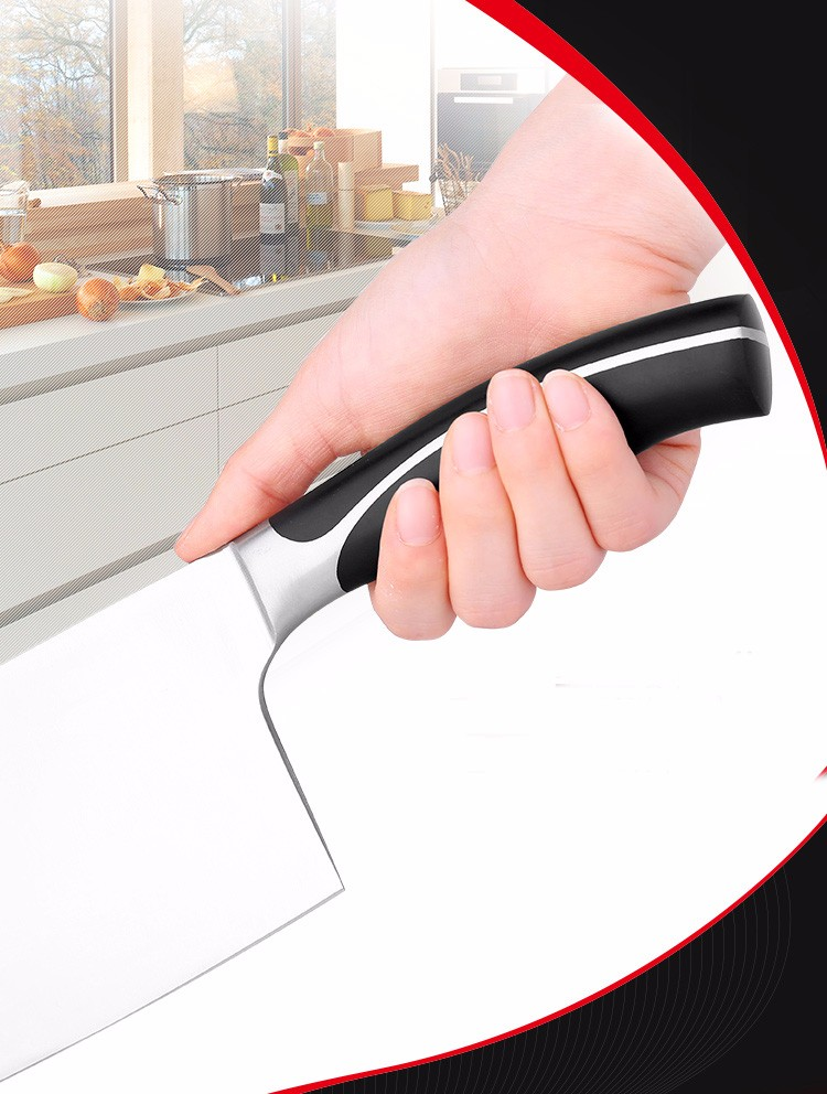 """Buy New Sharp japanese kitchen knife 7"""" chef knife multifunctional stainless steel meat Cleaver Filleting Knives kitchen accessories cheap"""