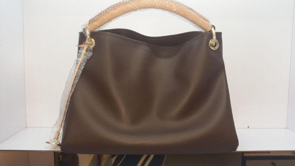 Free Shipping! Top-Quality The fashion leisure shoulder bag Famous brand Messenger Bag monogram canvas Artsy MM GM 40249 M40259(China (Mainland))