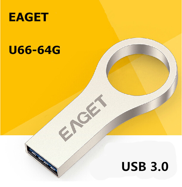 EAGET U66 USB 3 0 100 64GB 32GB 16GB usb flash drives pen drive Fashion metal