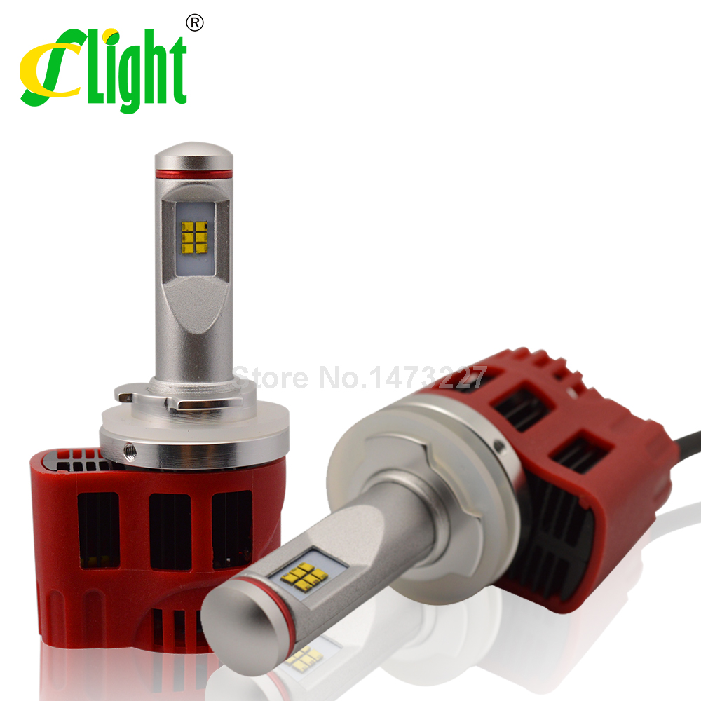 Фотография Canbus H15 90W/set 9000Lm/set LED Car Headlight Fog Light Conversion Kit Error Free Replace Halogen HID Xenon Bulb Lamp