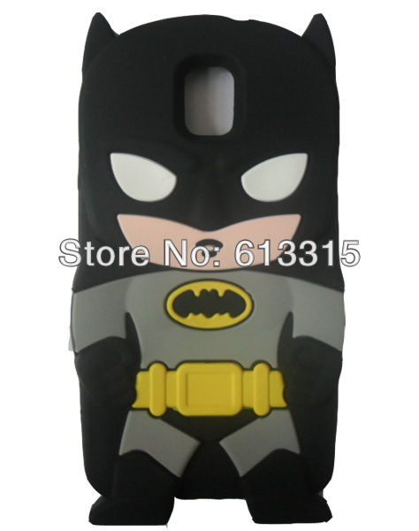 galaxy Note 3 case batman soft rubber silicone 3D minion cell phone cover Samsung III N9000 - Adapter-cable's store