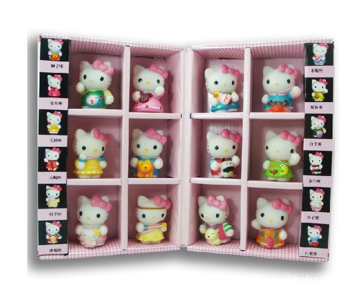 Japanese Hello Kitty Toys : Free shipping hello kitty kt cat japanese anime figures
