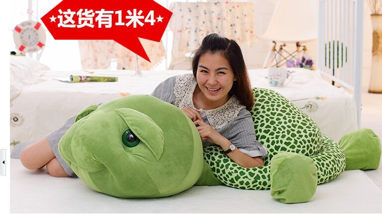 huge  plush toy stuffings turtle toy tortoise doll throw pillow , Christmas gift w3058<br><br>Aliexpress