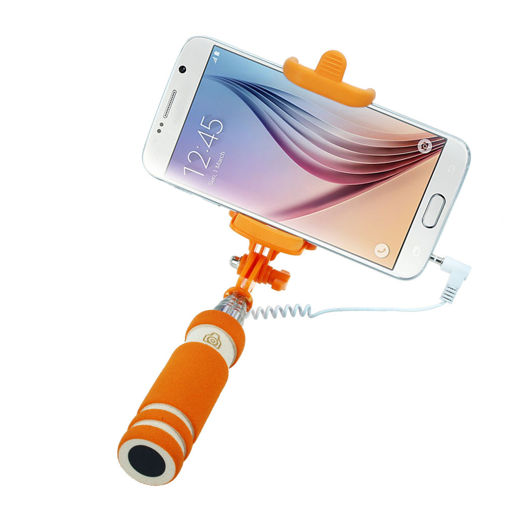 image for Hot-sale BINMER Selfie Sticks Gifts 14-60cm Handheld Extendable Stick