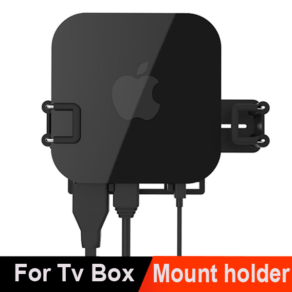 Universal Wall Mount Case Bracket Holder Tray For Apple TV 2 3 & AirPort Express Amazon Fire TV most tv box(China (Mainland))