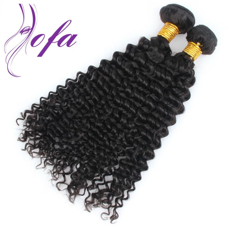 Deep Wave Peruvian Virgin Hair 7A Unprocessed Virgin Peruvian Deep Wave Curly Human Hair Weave AOFA Hair 3 Bundles Deep Wave