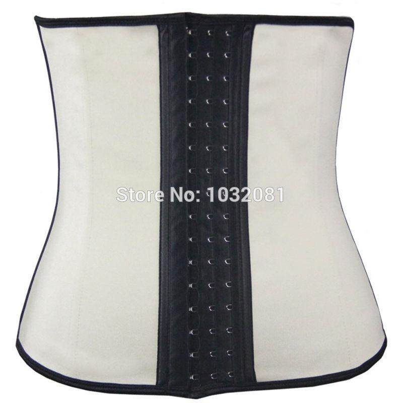 Plus size sexy latex corset sexy top latex waist trainer waist cincher body shaper slim vest latex waist corset E15