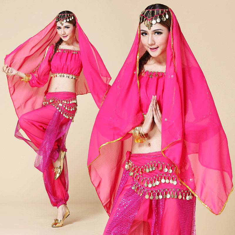 bollywood dance costumes indian Belly costume set belly clothes bloomers - No.1 works store