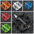 NEW Bicycle Pedals Mountain Bike MTB Road Cycling Alloy Pedal Bearing BMX Ultra light Pedal Bike