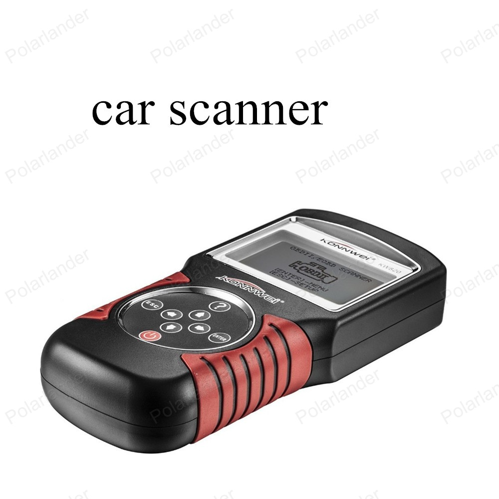 newest KW820 Code Scanner Fault Reader CAN OBD2 Engine Managment Works For US/Asian/European Vehicles(China (Mainland))