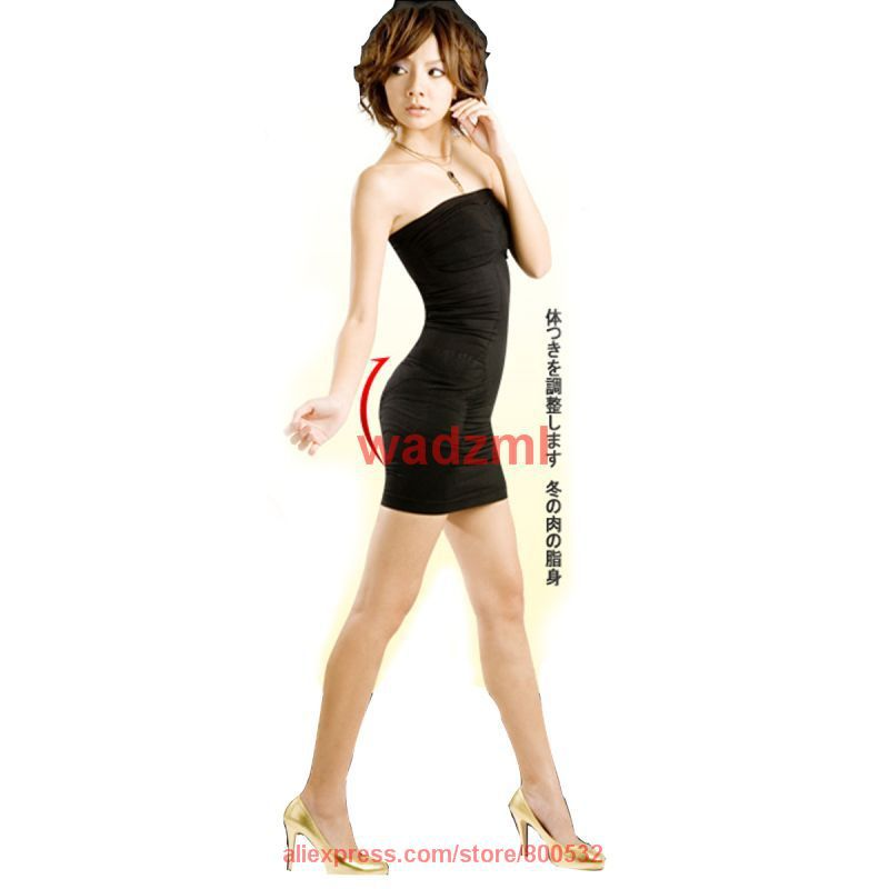 free shipping Japan style slimming vest Lipodress chest wrapped body shape undergarment lady sexy corset 12pcs/lot