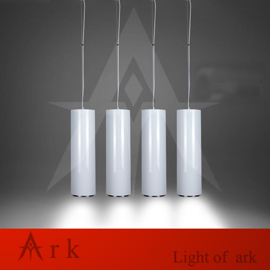 ARK LIGHT Dia 15cm WHITE Aluminum cannular led 15W Pendant Lamp TUBE Cylinder Shape LED hanging light bar lamp(China (Mainland))