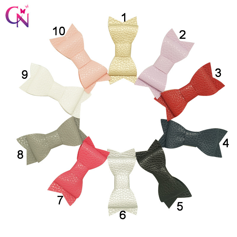 Min girl's hairclip baby fine leather hair clip baby children hairpins girl accessories(China (Mainland))
