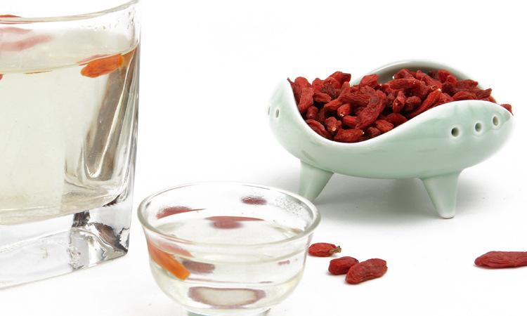 tea Grade Natural Berry Hot Popular goji berries Dried Wolfberry Tea Skincare Light Fragrance Eye Bright