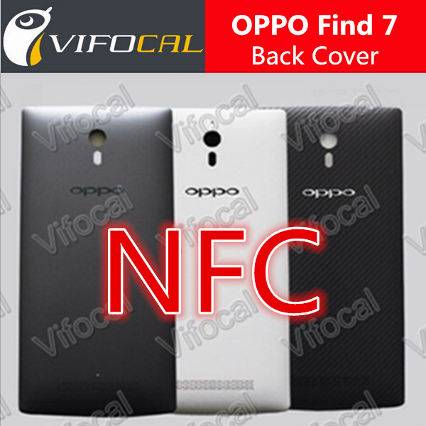 Oppo Find 7 Battery Case with NFC tag X9007 X9077 phone battery protective mobile phone housings + Free shipping + In Stock(China (Mainland))