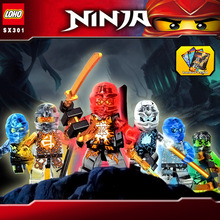 Elemental phantom Ninjagoes building block Kai Jay Zane Cole Lloyd ninja minifigures weapons compatible legoes toys kid - NeverLand funny toy Store store