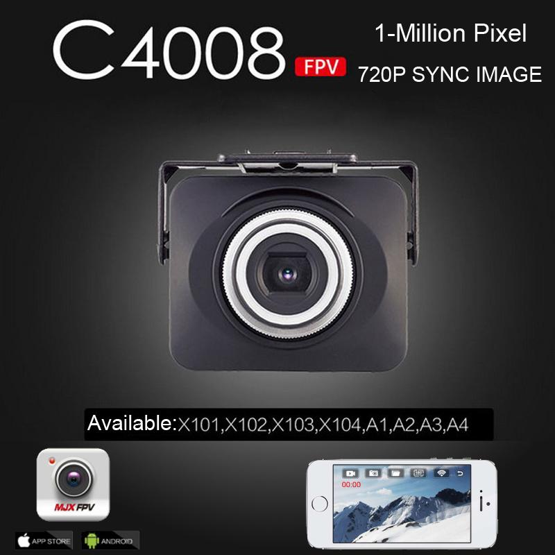 MJX C4008 1MP 720P WIFI FPV Aerial Camera kit For MJX X101 X102 X103 X104 X600 Quadcopter<br><br>Aliexpress