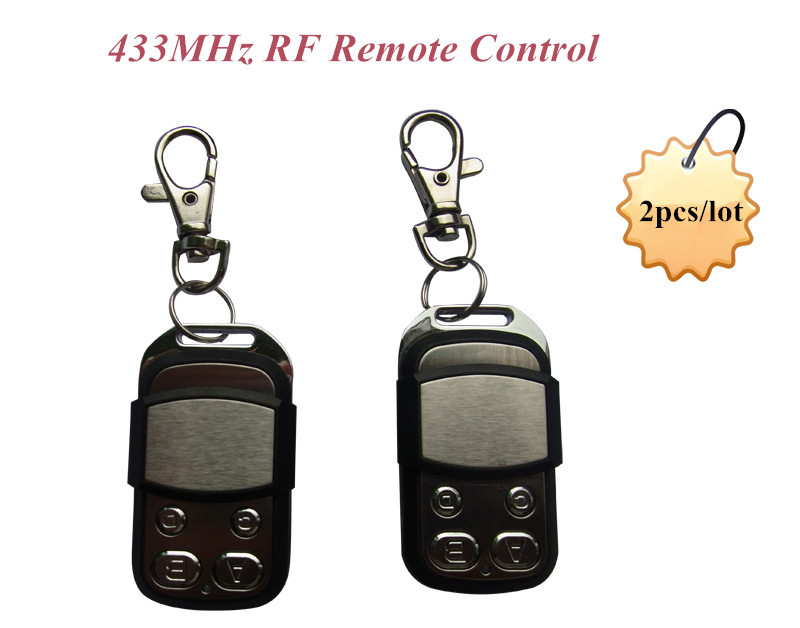 High quality! KingPigeon 4 channel universal learning code 433MHz RF Remote Control Transmitte (2pcs RM-03)<br><br>Aliexpress