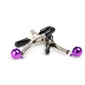Free Shipping 1 Pair New Fashion Nipple Clamps Clips Jewellery Bust Massager Stimulate Sex Toy