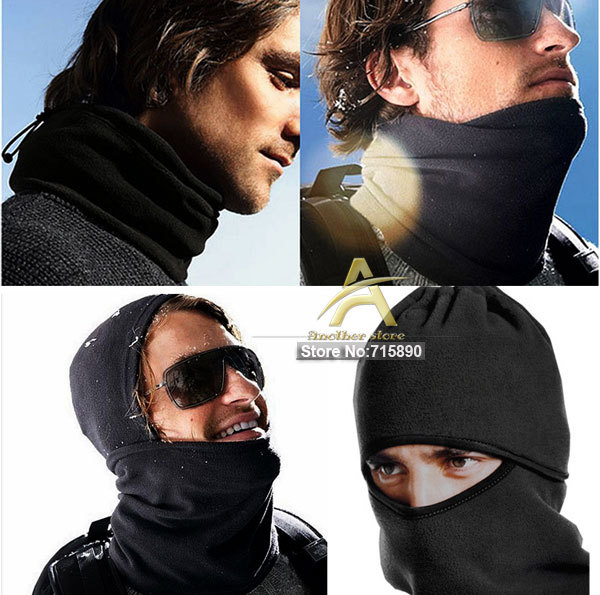 Thicken Winterproof mask ATV Ski Snowboard Winter Bicycle Bike Motorcycle Warm Neck Face Mask CS Hat Cap Free shipping MS002(China (Mainland))
