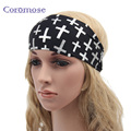 Coromose Women Men Magic Scarves Headband Cycle Headband Head band Printing Hair Band