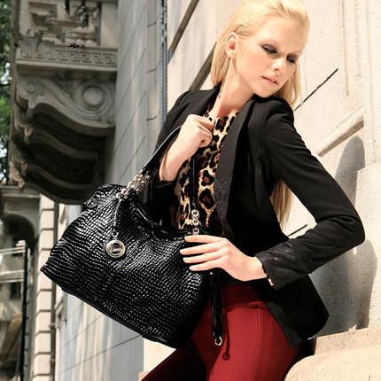 2015 New European and American fashion brand Genuine leather hand shoulder bag Women big shots bag JSH284<br><br>Aliexpress