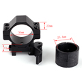 Tactical Scope Accessories 25 4mm 30mm 2PCs Low Profile 20mm Picatinny Weaver Quick Disconnect Rings Rifle