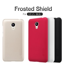 100% original NILLKIN Super Frosted Shield case for Meizu M2 mini (5 inch) Case with free screen protector and retail package