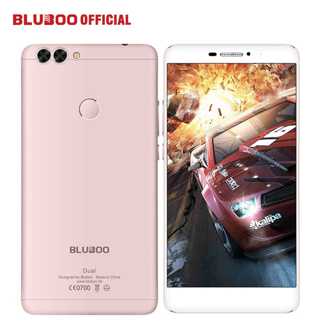 """BLUBOO Dual 5.5"""" FHD 4G LTE Mobile Phone MTK6737T Quad Core 2G RAM 16G ROM 13MP Dual Back Camera Android 6.0 3000mAh Cell phone"""