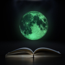 Buy Fluorescent Night Glow Dark Luminous Moon Wall Stickers Noctilucent Home Decor Living Room TV/Sofa Backdrop Mural Decal for $7.10 in AliExpress store