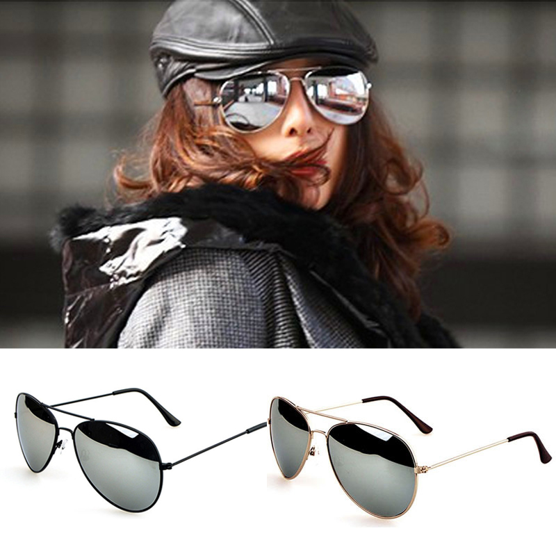 50% off Hot Retro Vintage Womens Mirrored Lens Summer Sunglasses Holiday Sun Glasses oculos de sol feminino a2(China (Mainland))