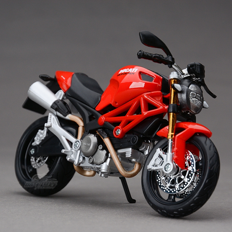 Freeshipping Maisto Ducati Monster 696 Motorcycles Diecast Metal Sport Bike Model Toy New in Box For Kids(China (Mainland))