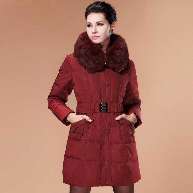 women winter plus size coats 4xl 5xl thick super warm ladies slim parka jacket white duck down coat long winter coat women DX338Одежда и ак�е��уары<br><br><br>Aliexpress