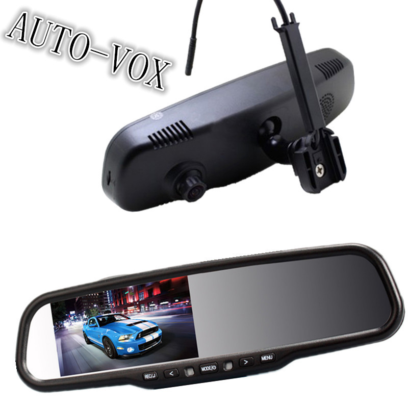 Built-in DVR 4.3 inch HD LCD Car Rearview Mirror Monitor Night Vision 1080P 170 Degree View Angle Dash Cam Camera - Shenzhen Moreshare Group Co.,Ltd store