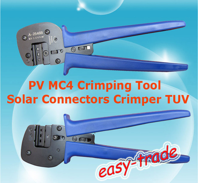 MC4 Crimping Tool Solar Cable Crimper TUV, free shipping, fast delivery.
