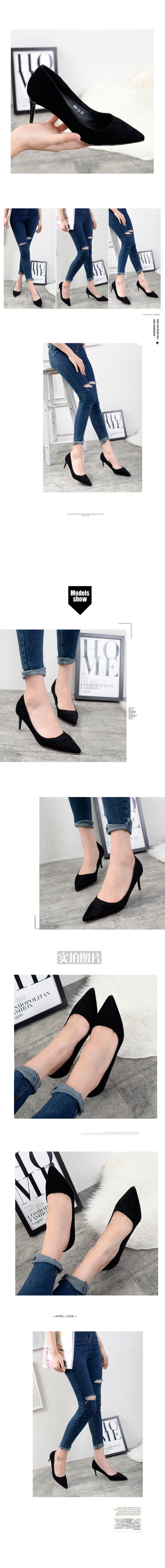 2016 New Brand Fashion Women Pumps Red Bottom Thin High Heel Pumps Shoes Women Pointed Toe Sexy Party Wedding Woman Shoes ZK2.5