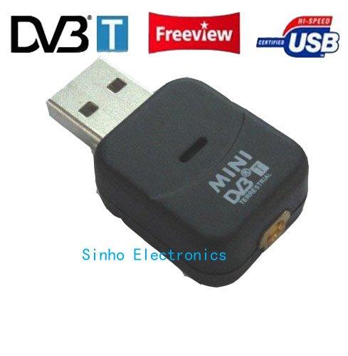 Mini Usb Dvb-t Tv HD TV receiver Digital Tuner Receiver Dongle/mpeg-4 H.264(China (Mainland))