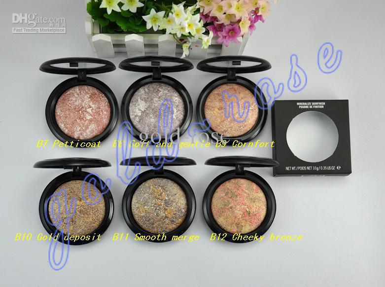 Hot Makeup Mineralize Skinfinish Natural Face Powder 10g English name (150 pcs/lot)+gift(China (Mainland))