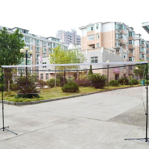 New Outdoor Sports 5.9m*0.79m Professional Training Square Mesh Badminton Net Dark Red H1E1(China (Mainland))