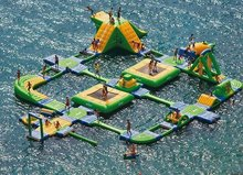 Factory direct large inflatable water park, inflatable water bounce, inflatable pool  SCB-036(China (Mainland))