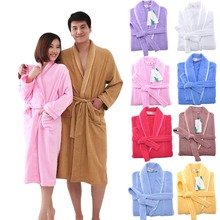 MMY Brand 2015 High Quality Cotton Robe Solid terry Bathrobe Bathroom/Home/Hotel/Pool Dressing Gowns for Women Free Shipping New(China (Mainland))