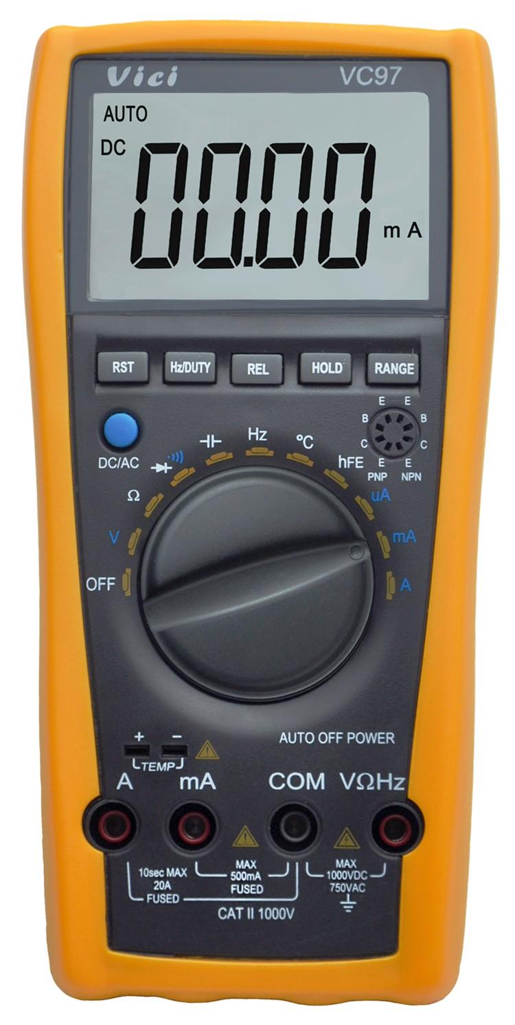 Digital Voltmeter Symbols : Vici vc auto range lcd digital multimeter dmm ac