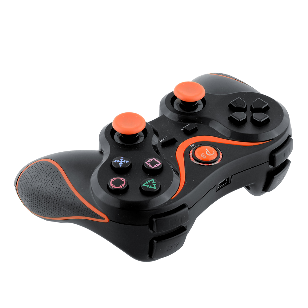 New Wireless Bluetooth Remote Joystick Controller Gamepad For Sony for PS3 Playstation 3 PC laptop Black Yellow(China (Mainland))