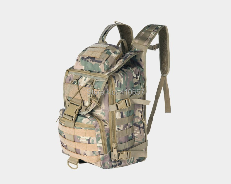 2015 New 45L Men/Women Military Outdoor Backpack Camping Hiking Tactical Camo - Sunuo Sports & Outdoors s store