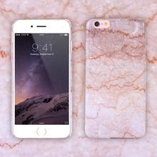 2016 новые прибытия мрамор телефон чехол жесткий пк принципиально чехол для iPhone 6 6 S и 6 6 S плюс коке ультратонкий гладкой назад капа мешок